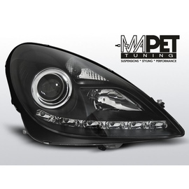 Mercedes SLK 04-11 - Daylight BLACK LED - LPME38
