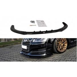 Przedni Splitter / dokładka ABS (v.1) - Audi S8 D4 2013-