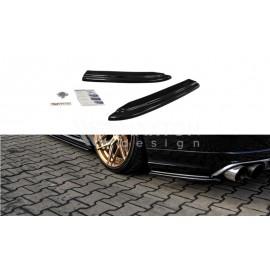 Splittery Boczne Tylnego Zderzaka ABS - Audi S8 D4 2013-
