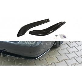 Splittery Boczne Tylnego Zderzaka ABS - Audi S4 B5 Avant 1997 - 2001