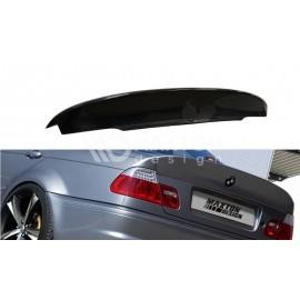 Przedłużenie klapy / Spoile ABS - BMW 3 E46 Sedan