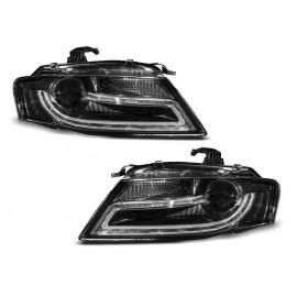 Audi A4 B8 - Xenon - Black DayLight LED DRL światła jazdy dziennej LPAUD2