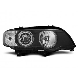 BMW E53 X5 Angel Eyes BLACK LED Xenon D2S LPBMD3
