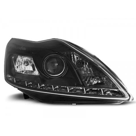 Ford Focus II Lift - BLACK LED - Diodowe LPFO38