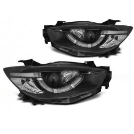 Mazda CX5 11-15  - Xenon LED BLACK DRL dzienne diodowe LPMA13