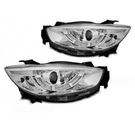 Mazda CX5 11-15  - Xenon LED CHROM DRL dzienne diodowe LPMA12