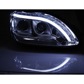 Mercedes S-klasa W220 BLACK LED diodowe LPME97