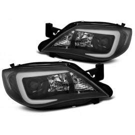 Subaru Impreza GH - BLACK LED XENON - diodowe LPSU12