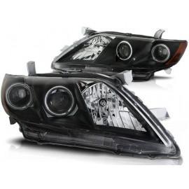 Toyota Camry 6 XV40 06-09 Angel Eyes BLACK LED  LPTO10