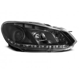 VW Golf 6 - diodowe BLACK LED - LPVWD1