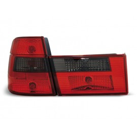 BMW E34 Touring CLEAR RED / BLACK  czerwono-czarne LTBM59