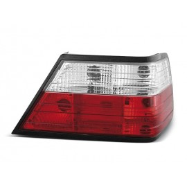 Mercedes E-klasa (W124) clearglass Red/White  LTME03