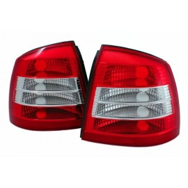 Opel Asta G 3/5d  Clearglass Red / White  LTOP18 FK DEPO