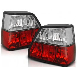 VW Golf 2 clearglass RED WHITE LTVW15