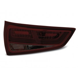 LAMPY AUDI A1 2010- Red/Black LED BAR - diodowe LDAUC9