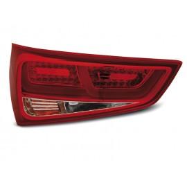LAMPY AUDI A1 2010-  Red/White LED BAR - diodowe   LDAUC8