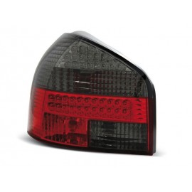 Audi A3 8L Clearglass Red/Black LED diodowe FK LDAU86