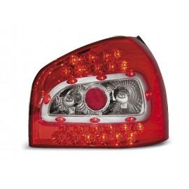 Audi A3 8L Clear / Red  LED - Diodowe LDAU18