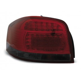 Audi A3 8P Red Black Led diodowe - LDAU67