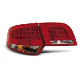 Audi A3 8P Sportback RED WHITE LED LDAU90