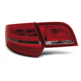 Audi A3 8P Sportback Red/White LED diodowe 2005-2008 LDAUA7