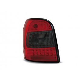 Audi A4 B5 Avant 94-01 RED SMOKE LED - Czerwone Dymione Diodowe LDAU94