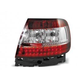 Audi A4 B5 Sedan - Red/White LED - Diodowe LDAU25