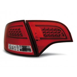 Audi A4 B7 Avant Kombi - Red/White Led BAR - Diodowe LDAUB0