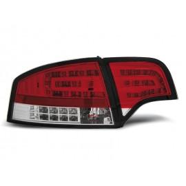 Audi A4 B7 Sedan - Red White Led - Czerwono Białe Diodowe LDAU70