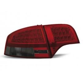 Audi A4 B7 Sedan - Clear Red/Black Led - Diodowe LDAU54