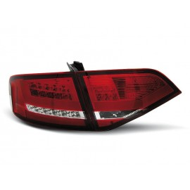 Audi A4 B8 Sedan - RED WHITE LED BAR - Diodowe LDAU97
