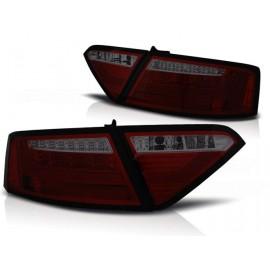 AUDI A5 Coupe - SMOKED RED LED BAR diodowe  LDAUE3