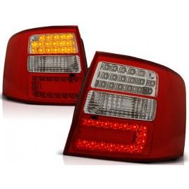 Audi A6 C5 Avant Red/White LED - Diodowe czerwono-białe DEPO LDAU04