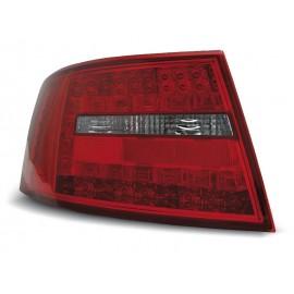 Audi A6 C6 Sedan - Clear Red / White Led - Diodowe LDAU73