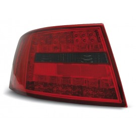 Audi A6 C6 Sedan - Clear Red / Black Led - Diodowe LDAU74