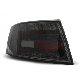 Audi A6 C6 Sedan - Clear Black Led - Diodowe LDAU75