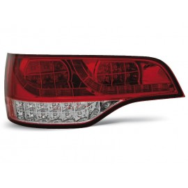 Audi Q7 - Clear Red / White Led - Diodowe LDAU57