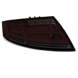 AUDI TT 8J 06-14 SMOKED RED LED BAR dynamiczne kierunki LDAUD2