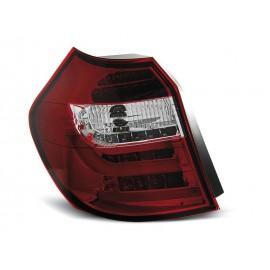 BMW E87 / E81  07-11 Red/White LED BAR Diodowe LDBM87