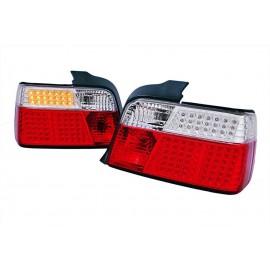 BMW E36 Sedan diodowe- LED Red/White DEPO LDBM38