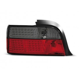 BMW E36 Coupe / Cabrio  - Red Black LED - diodowe DEPO LDBM37