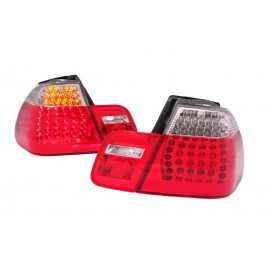 BMW E46 Coupe 99-03 Red / White Led diodowe LDBM69 DEPO