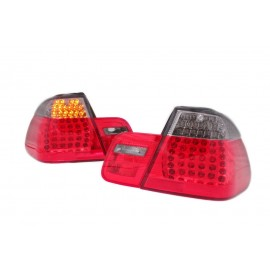 BMW E46 Coupe 99-03 Red / Black Led diodowe LDBM42
