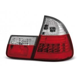 BMW E46 Touring (Kombi) Clear Red/White Led diodowe LDBM28