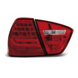 BMW E90 Red/White Led BAR Diodowe LDBMC7