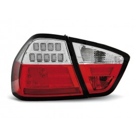 BMW E90 Red/White Led BAR Diodowe LDBM72
