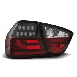 BMW E90 Red/Black Led BAR Diodowe LDBM74