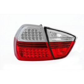 BMW E90  Sedan Red/White Led Diodowe LDBM67