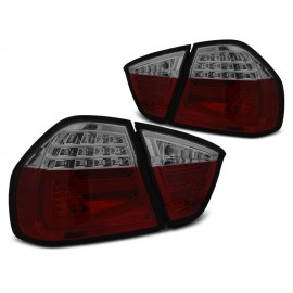 BMW E90 Red/Black Led BAR Diodowe LDBMF6