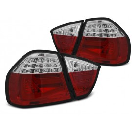BMW E90 Red/White Led BAR Diodowe LDBMF5